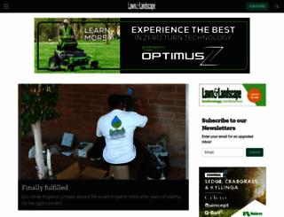 lawnandlandscape.com screenshot