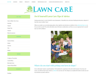 lawncare.org screenshot
