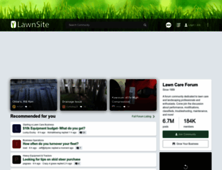 lawnsite.com screenshot