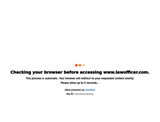 lawofficer.com screenshot