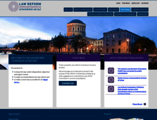 lawreform.ie screenshot