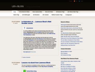 lawrenceblock.wordpress.com screenshot