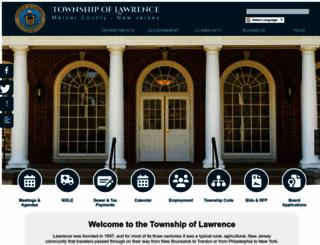 lawrencetwp.com screenshot
