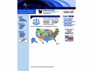 laws.uslandlord.com screenshot