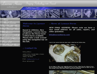 lawsonhorns.com screenshot