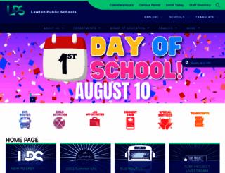 lawtonps.org screenshot