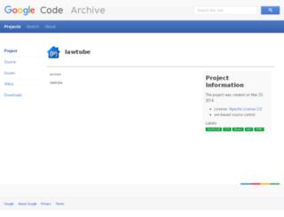 lawtube.googlecode.com screenshot