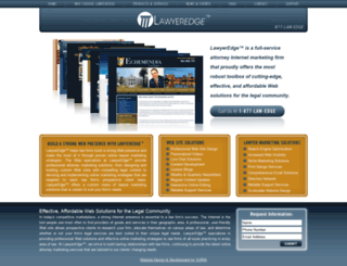 lawyeredge.com screenshot