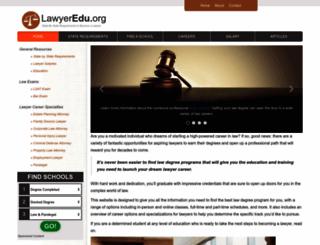 lawyeredu.org screenshot