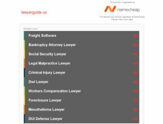 lawyerguide.co screenshot