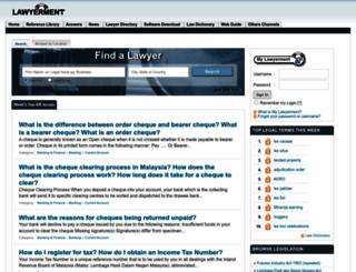 lawyerment.com screenshot