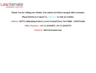 lawyersdelhi.com screenshot