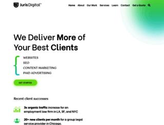lawyerseomarketing.org screenshot