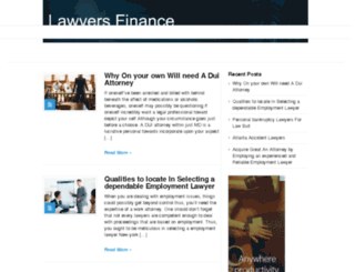 lawyersfinance.net screenshot