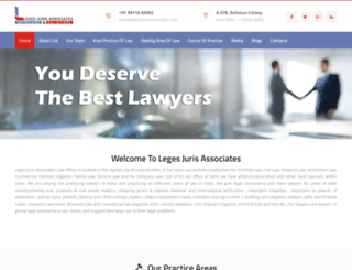 lawyersindelhi.com screenshot