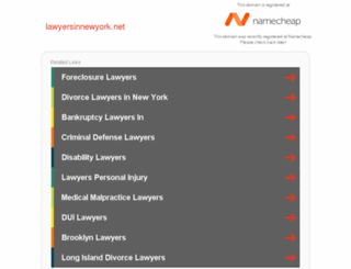 lawyersinnewyork.net screenshot