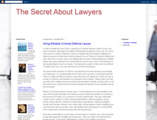 lawyerssecrets.blogspot.com screenshot