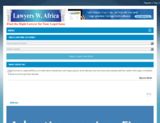 lawyerswafrica.com screenshot