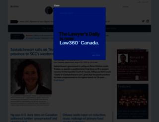 lawyersweekly.ca screenshot