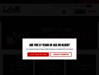 laxammo.com screenshot