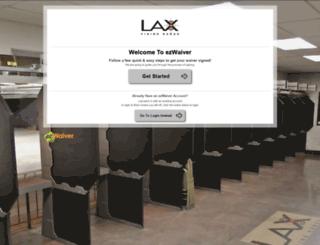 laxfiringrange.ezwaiver.com screenshot