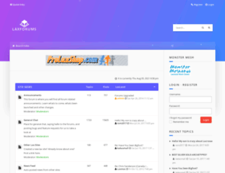 laxforums.co.uk screenshot
