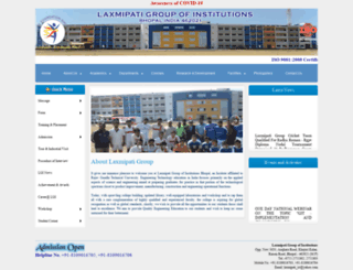 laxmipatigroup.org screenshot