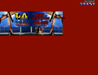 laxpress.com screenshot