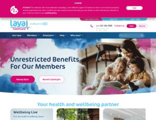 layahealthcare.com screenshot