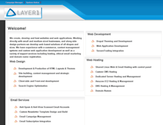 layer1.co.uk screenshot