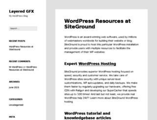 layeredgfx.com screenshot