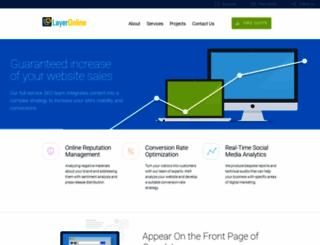 layeronline.com screenshot