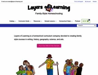 layers-of-learning.com screenshot