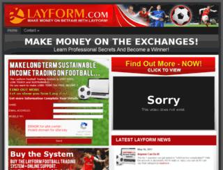layform.co.uk screenshot