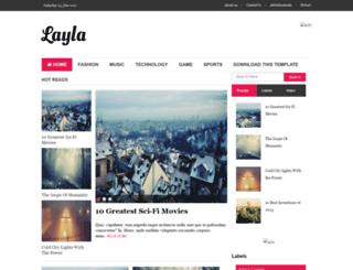 layla-soratemplates.blogspot.in screenshot