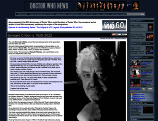 layout.doctorwhonews.net screenshot