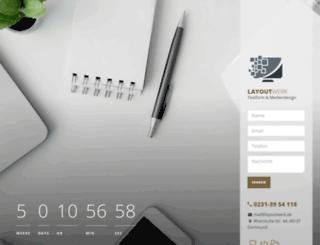 layoutwerk.de screenshot