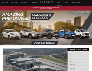 laz.co.za screenshot