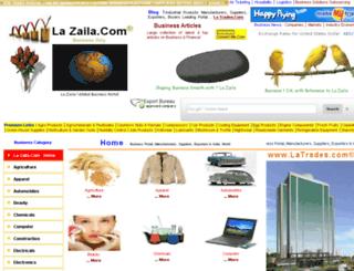lazaila.com screenshot