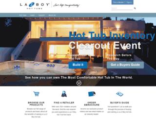 lazboyspas.com screenshot