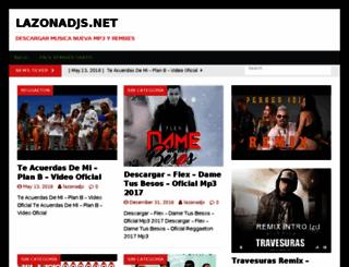 lazonadjs.net screenshot
