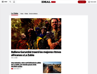 lazubia.ideal.es screenshot