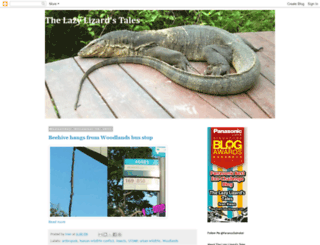 lazy-lizard-tales.blogspot.com screenshot