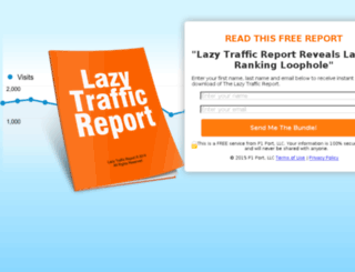 lazyaffiliateprofits.co screenshot