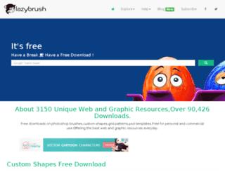 lazybrush.com screenshot