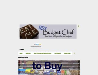 lazybudgetchef.com screenshot