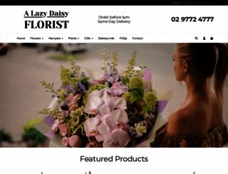 lazydaisy.com.au screenshot