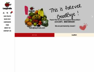 lazyfruits.com screenshot