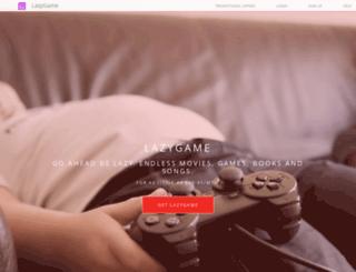 lazygame.net screenshot