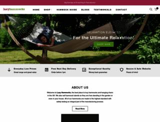 lazyhammocks.myshopify.com screenshot